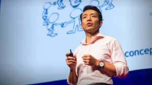 Hu Liang presenting